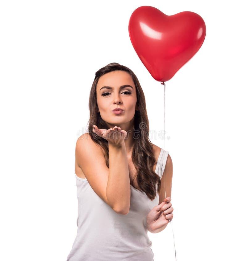 Comemorando o dia de Valentim fotografia de stock