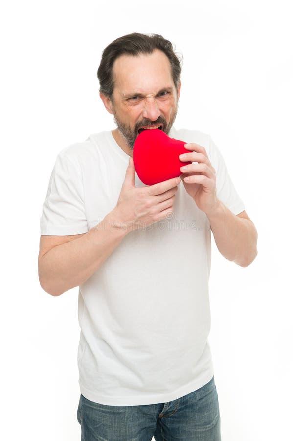 Comemore o dia de Valentim Amor e conceito romântico dos sentimentos Queda no amor Mim a você Atributo do coração do Valentim fotografia de stock royalty free