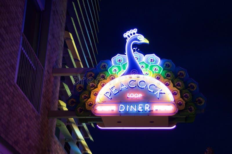 Comensal Del Mar Loop, St. Louis, Missouri del lazo del pavo real imagenes de archivo