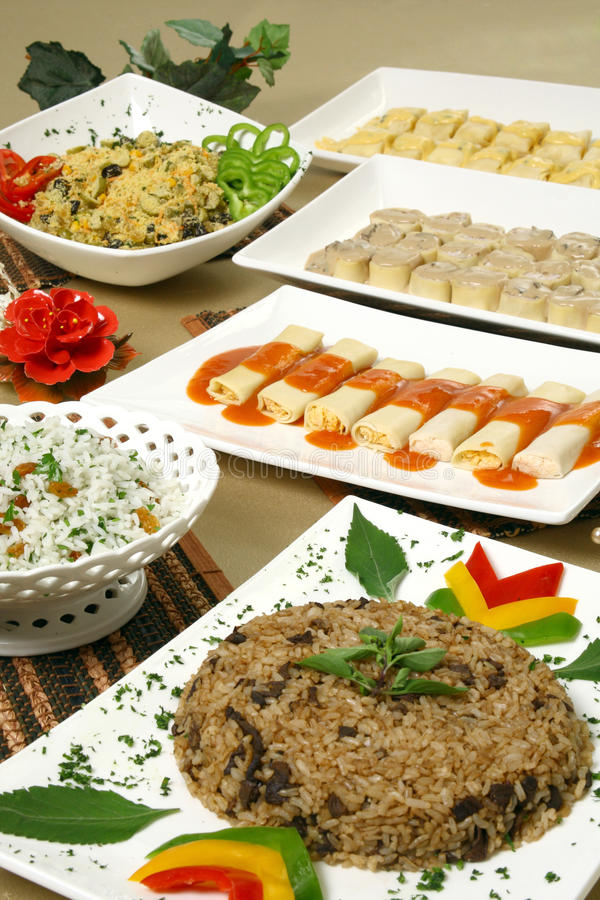 Comensal do arroz fotografia de stock