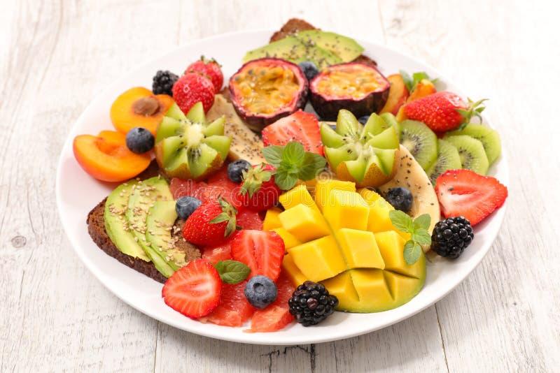 Comer saudável fotografia de stock