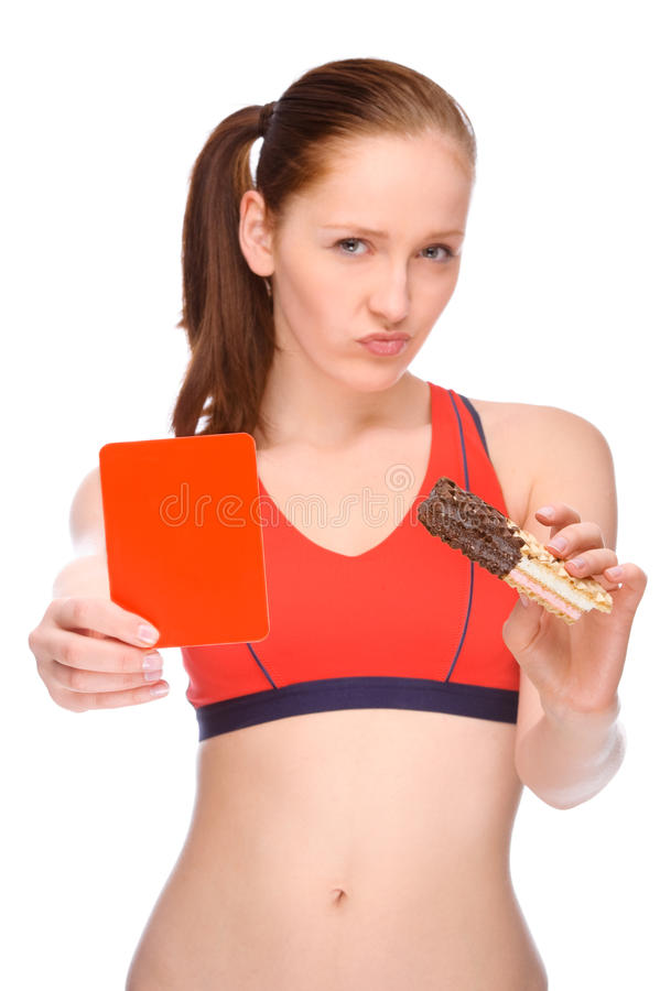 Comer saudável? fotografia de stock