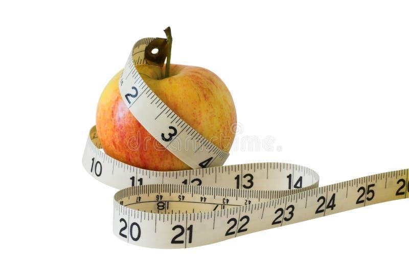Comer saudável. Com trajeto de grampeamento. imagens de stock