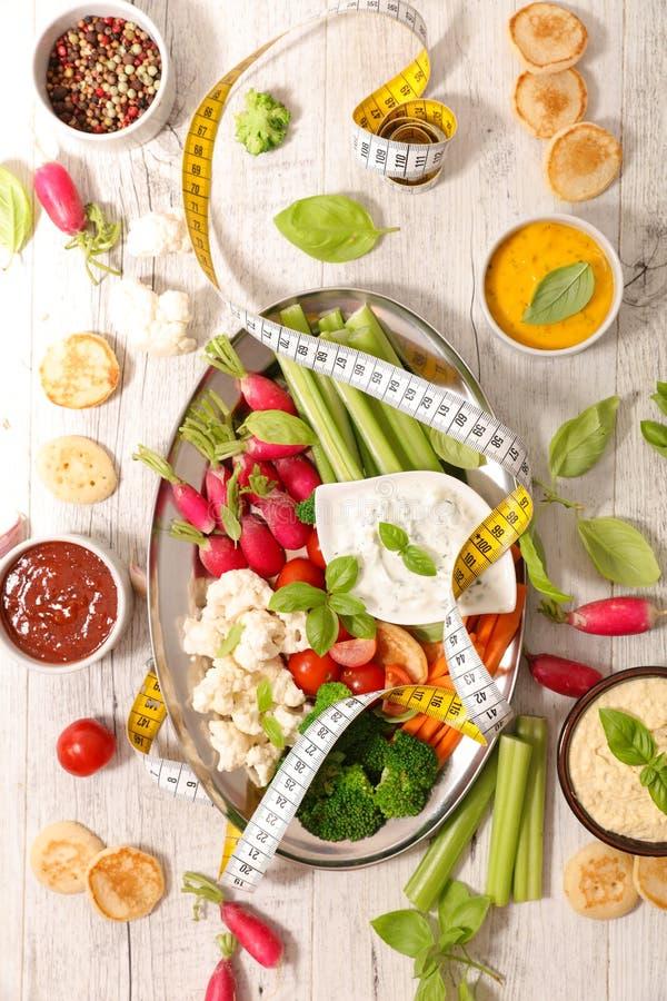 Comer saudável do petisco fotografia de stock