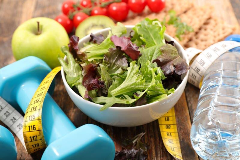 Comer saudável para o esporte foto de stock