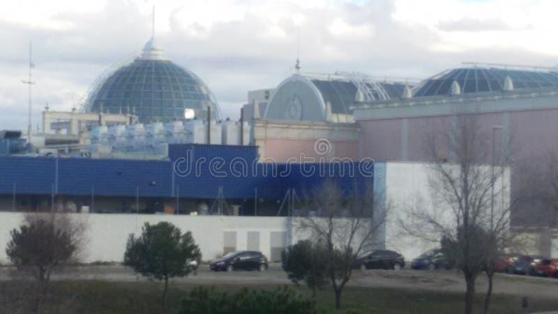 Comercial center stock photos