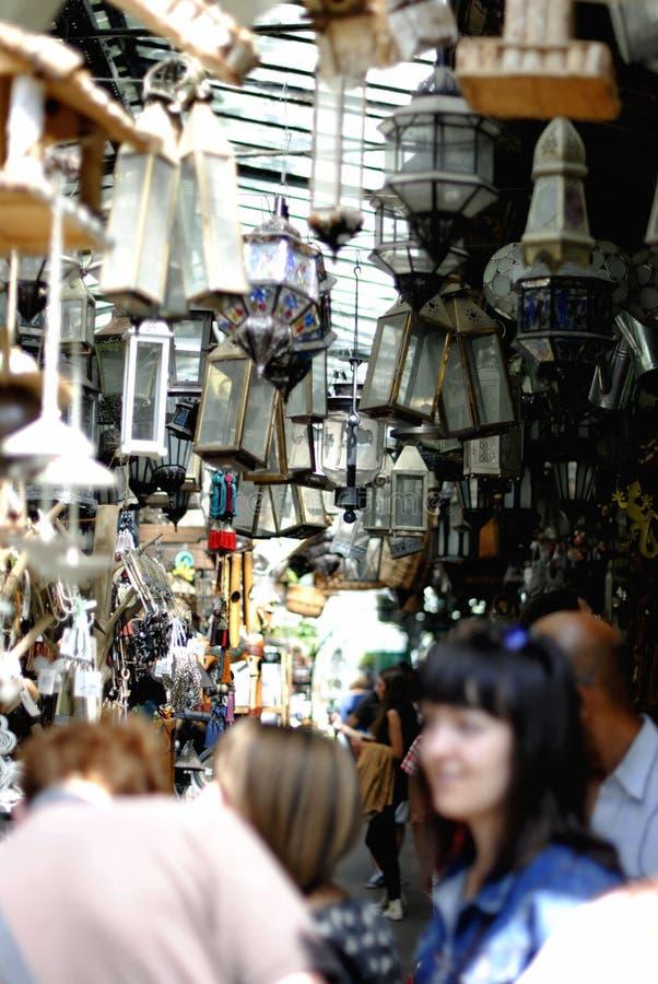 Comercialice muchas lámparas viejas fotos de archivo libres de regalías