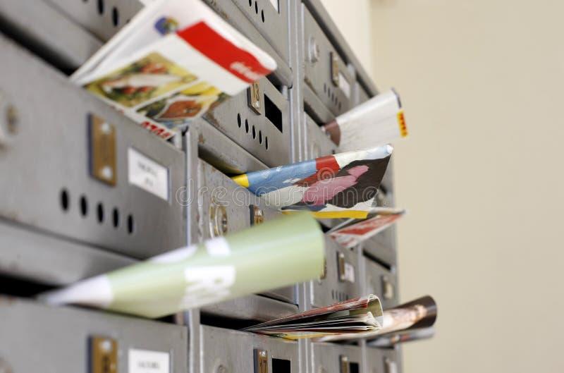Comercialización del correo imagen de archivo