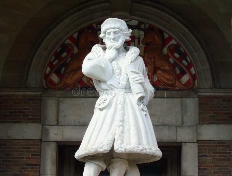 Comerciante Isabelino Venturer Statue imagem de stock