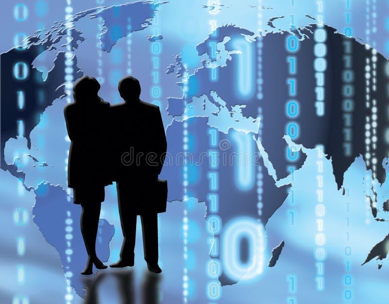 Comercio del mundo ilustración del vector