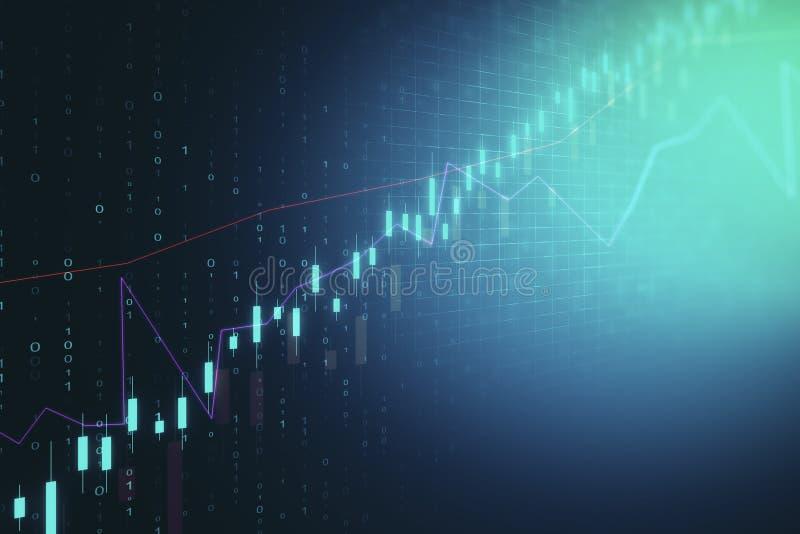 Comercio e invertir concepto ilustración del vector