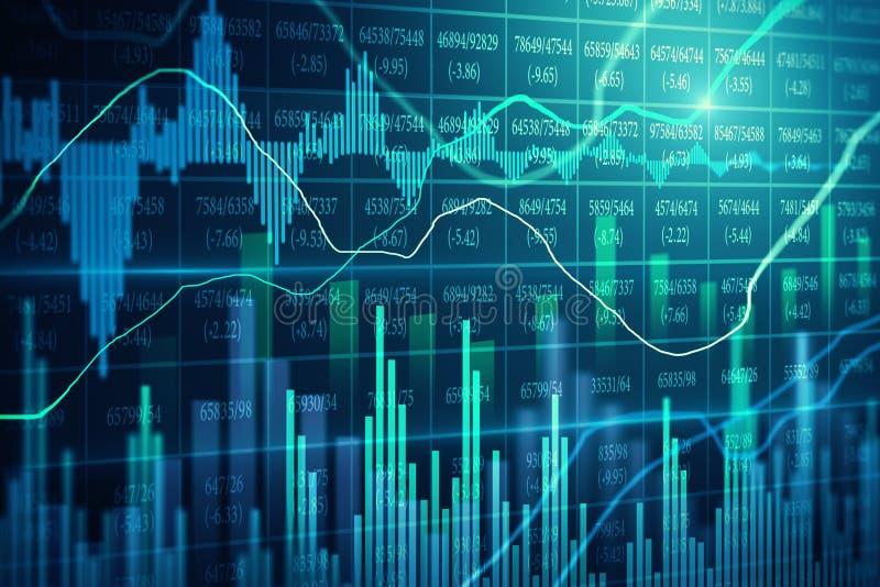 Comercio e invertir el fondo imagen de archivo