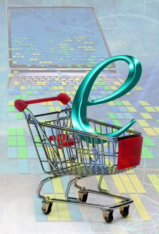 Comercio electrónico imágenes de archivo libres de regalías