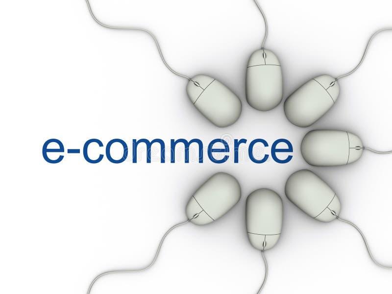 Comercio electrónico stock de ilustración