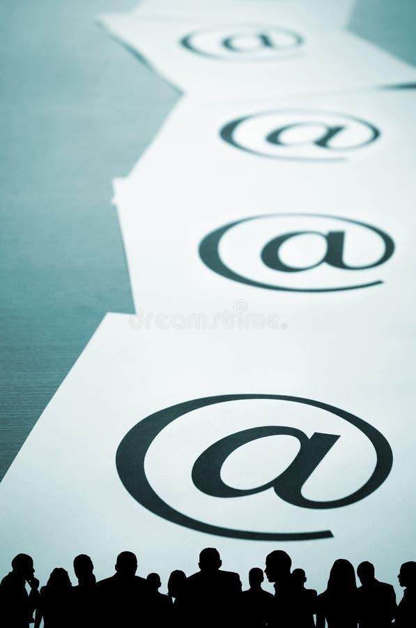 Comercio electrónico o Spam foto de archivo libre de regalías