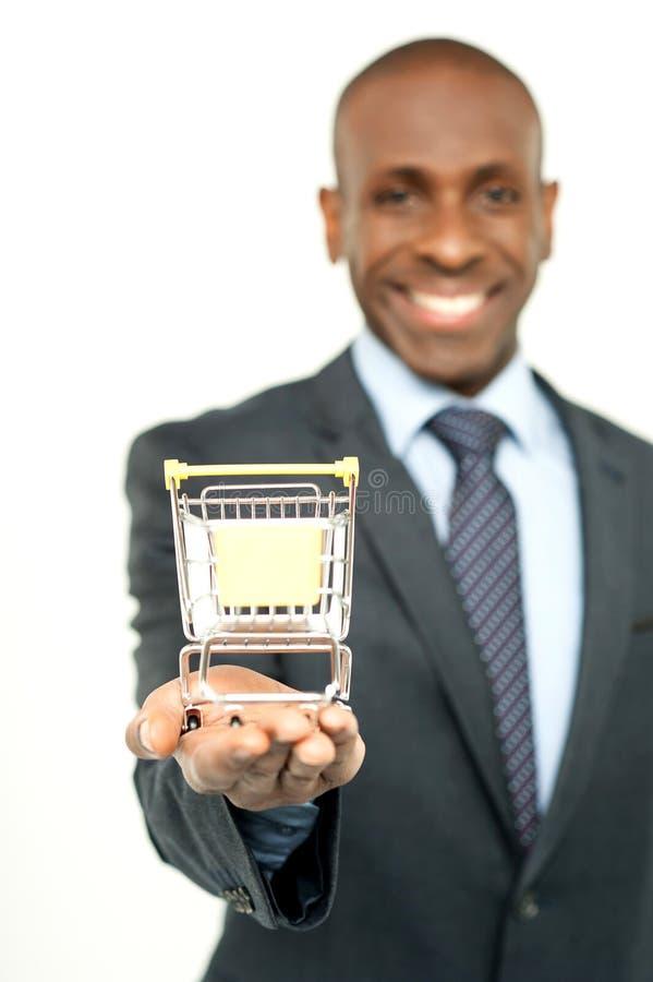 Comercio electrónico, paso siguiente de su negocio fotografía de archivo libre de regalías