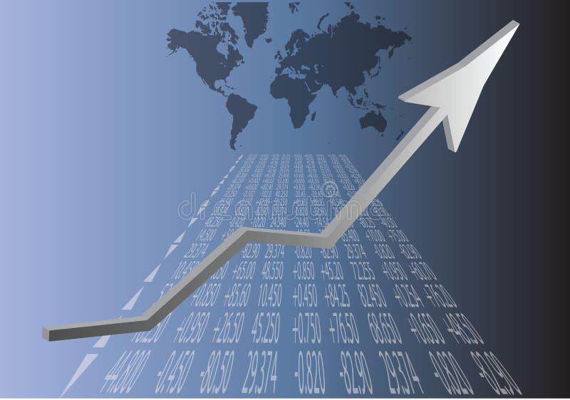 Comercio global stock de ilustración