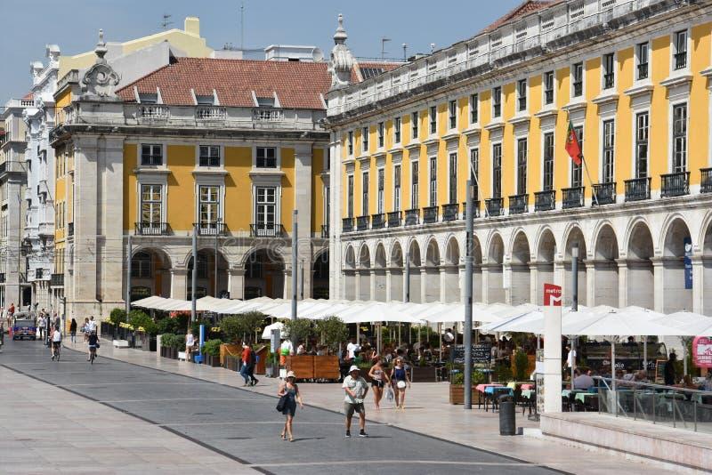 Download Comercioen Gör Den Lisbon Portugal Pracaen Redaktionell Arkivbild - Bild av triumfera, historiskt: 76703482