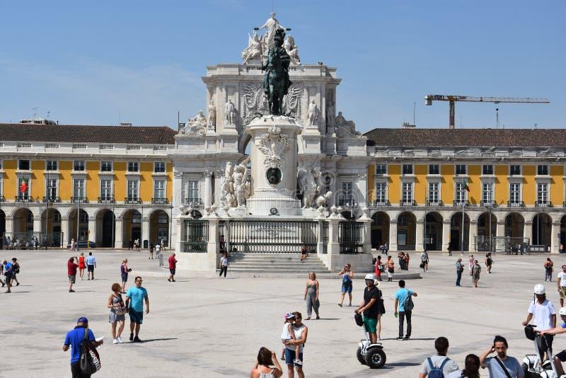 Download Comercioen Gör Den Lisbon Portugal Pracaen Redaktionell Foto - Bild av klassiskt, triumf: 76703495