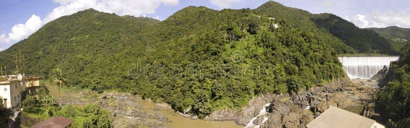 comerioPuerto Rico vattenfall royaltyfria foton