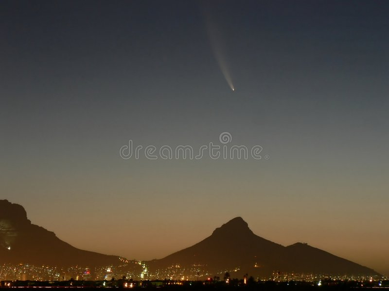 Comet 01 stock photography