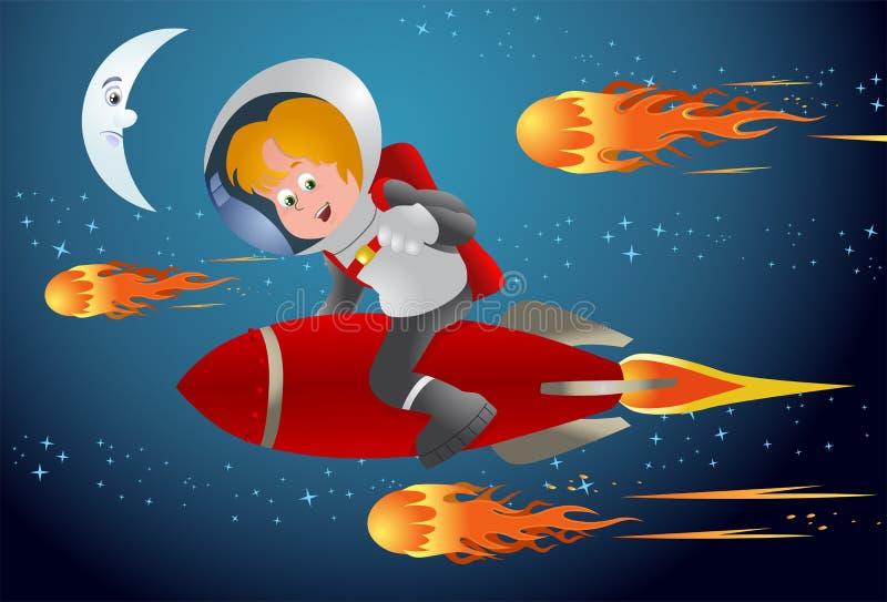 Download Comet racer stock illustration. Illustration of hits - 32473872