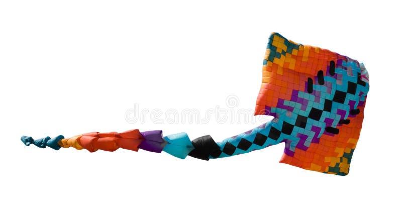 Cometa colorida imagen de archivo