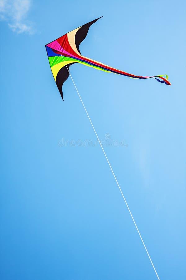 Cometa multicolora imagen de archivo