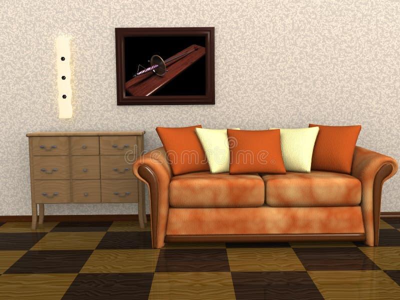 Comfort room vector illustration