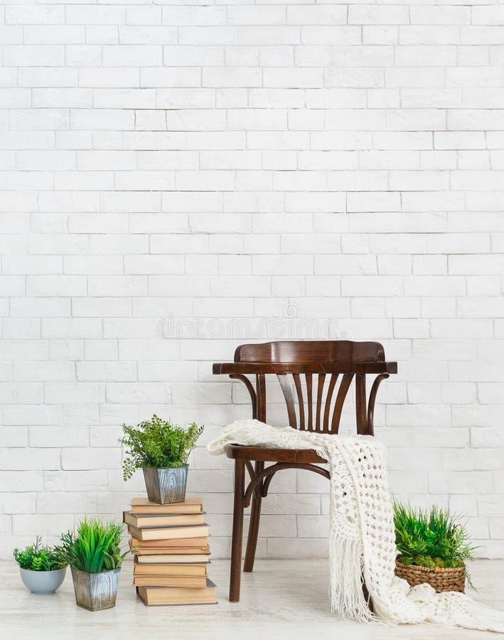 Comfortabel binnenlands concept stock afbeeldingen