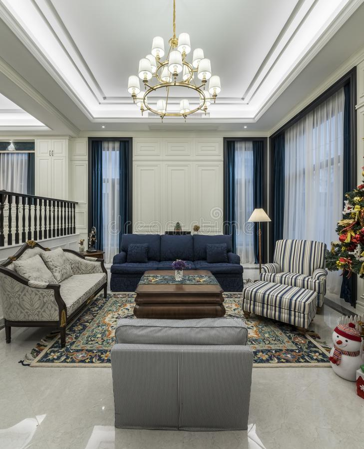 Comfortabel en proper huis stock afbeelding