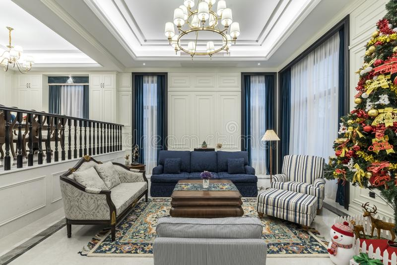Comfortabel en proper huis royalty-vrije stock foto's
