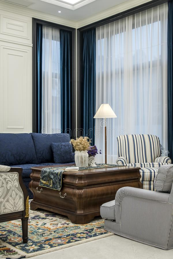 Comfortabel en proper huis stock foto's