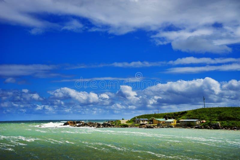Comfortabel Hoekje, het Zuideneiland van Nieuw Zeeland stock afbeelding