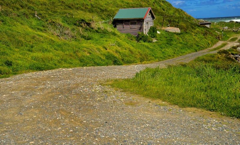Comfortabel Hoekje, het Zuideneiland van Nieuw Zeeland stock foto