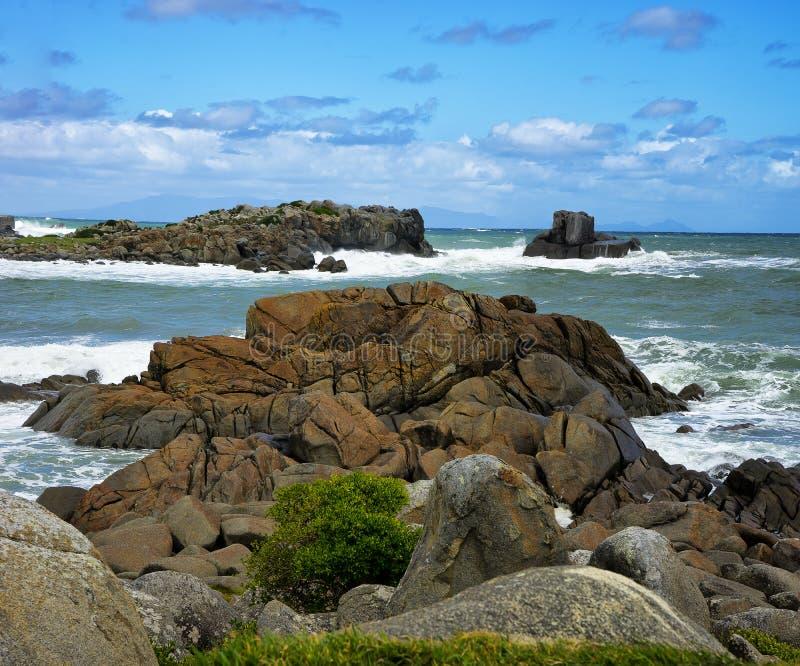 Comfortabel Hoekje, het Zuideneiland van Nieuw Zeeland royalty-vrije stock afbeelding