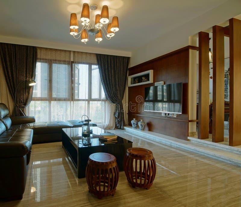Comfortabel huis royalty-vrije stock foto