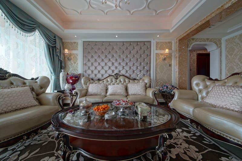 Comfortabel huis stock afbeelding