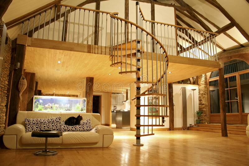 Comfortabel huis stock fotografie