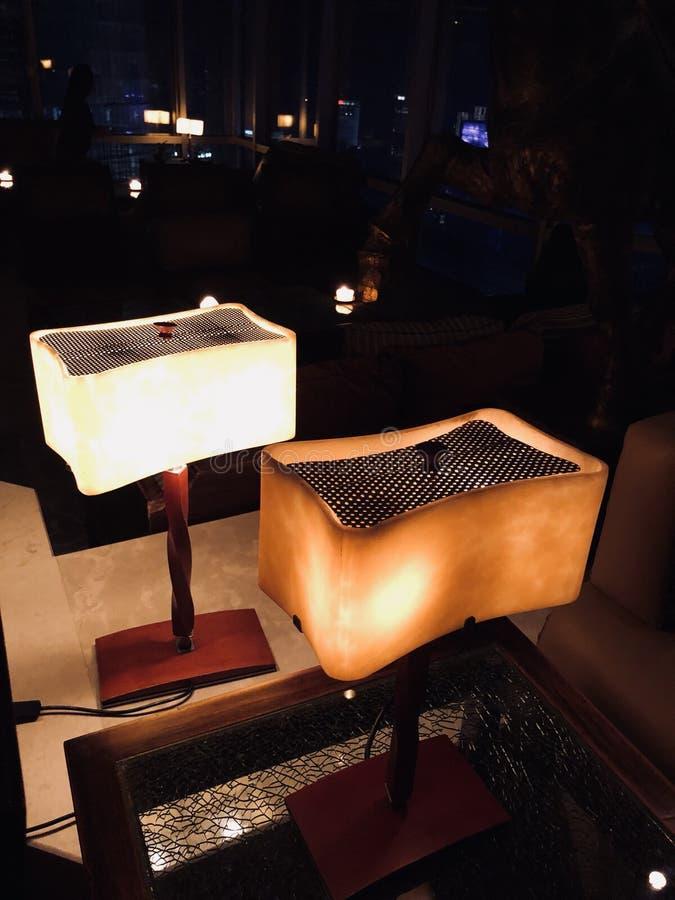 Comfortabel licht stock afbeeldingen