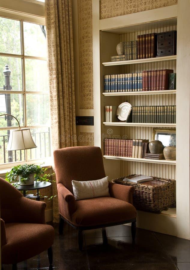 Comfortabel zittingsgebied royalty-vrije stock afbeelding