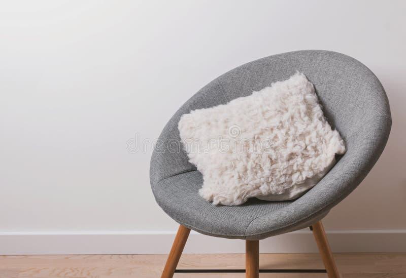 Comfortabele moderne armachair royalty-vrije stock foto