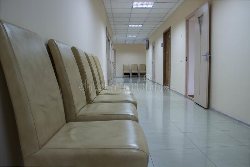 Comfortable Armchairs In The Reception Room Of The ...