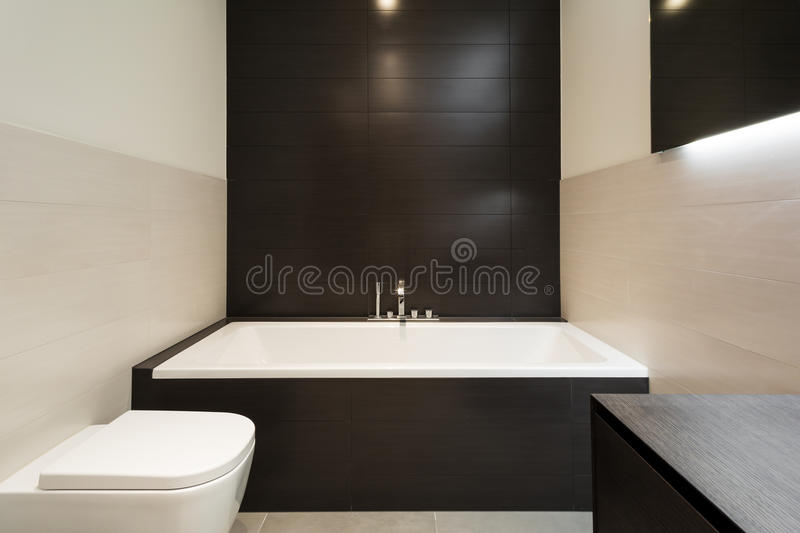 Comfortable bathroom royalty free stock images