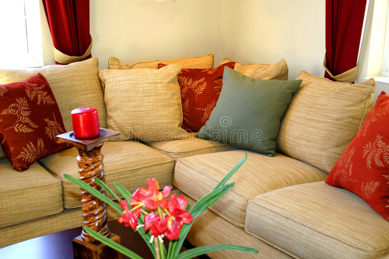 Comfortable Corner stock images