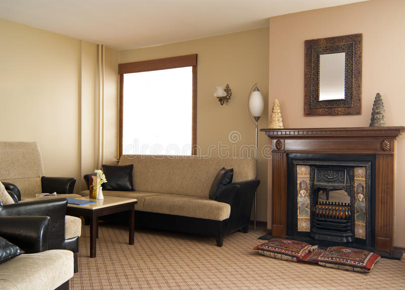 Download Comfortable Interior In Etno Style For Relax Stock Image - Image: 19532827