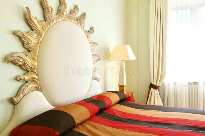 Comfortable suit, bedroom royalty free stock image