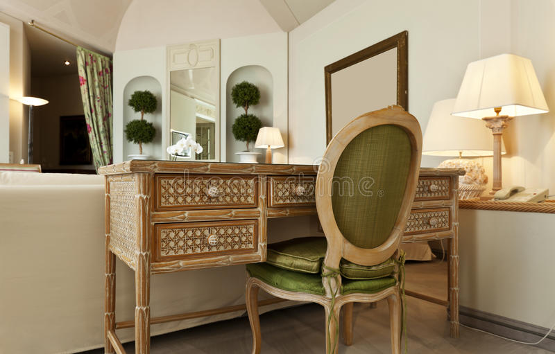 Download Comfortable Suite, Wooden Desk Stock Photo - Image: 21314914