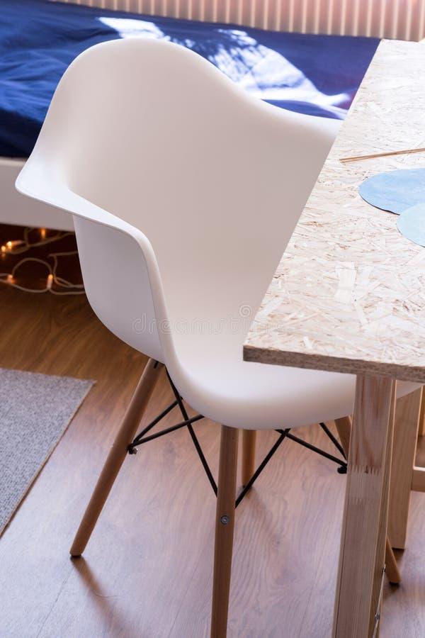 Comfy biurka krzesło fotografia royalty free
