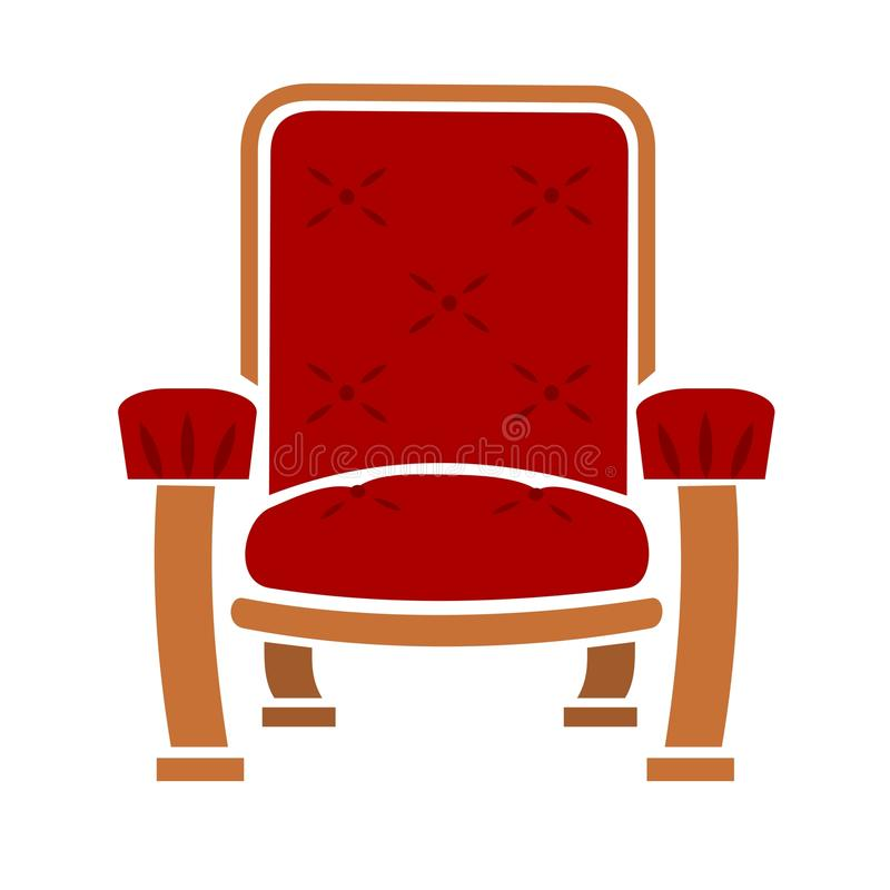 Download A Comfy Chair stock vector. Illustration of armchair - 23165345